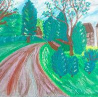 Moss Valley Landscape, Deryshire