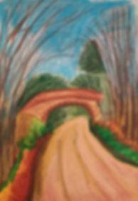 Monsal Trail Oil Painting by Nicola Elle