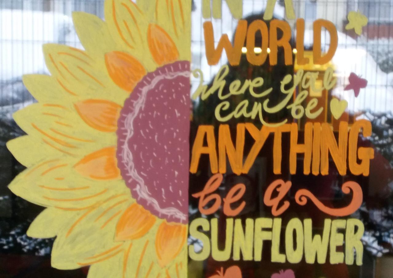 Sunflower Children's Centre Front Window