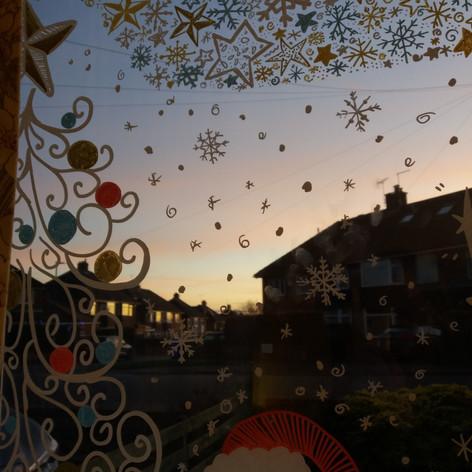 Christmas House Window 2020