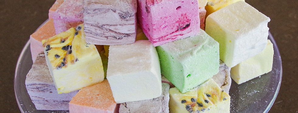 Assorted Gourmet Marshmallow Packs (6 pieces)