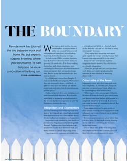 HRM article Boundaries at work 2020 34-3