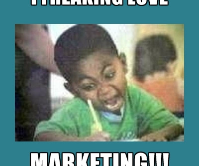 Confessions of a Marketing Geek.