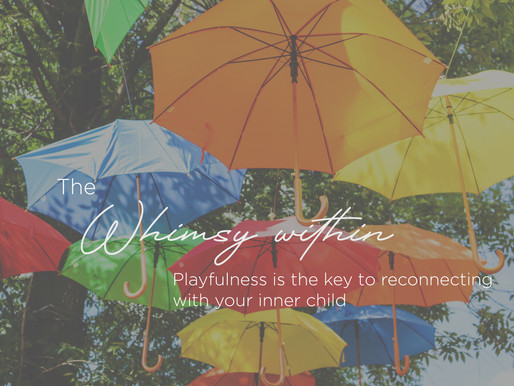The whimsy within - Mindful Parenting - March 2021