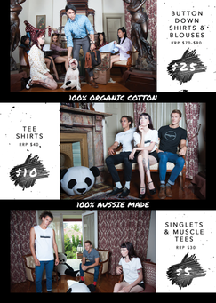 Boo Clothing Graphic Design Poster by Master Marketing