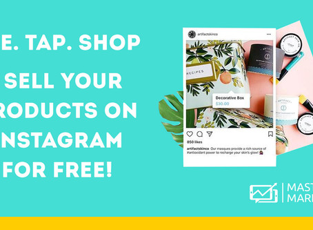 See. Tap. Shop - Sell your products on Instagram for free!