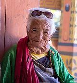 Happy Bhutanese Grandma