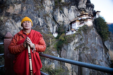 Rinpoche at Tigers Nest