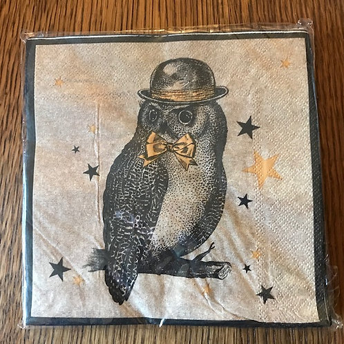 Mr Owl Napkins