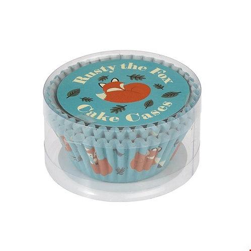 Rusty the Fox Cupcake Cases