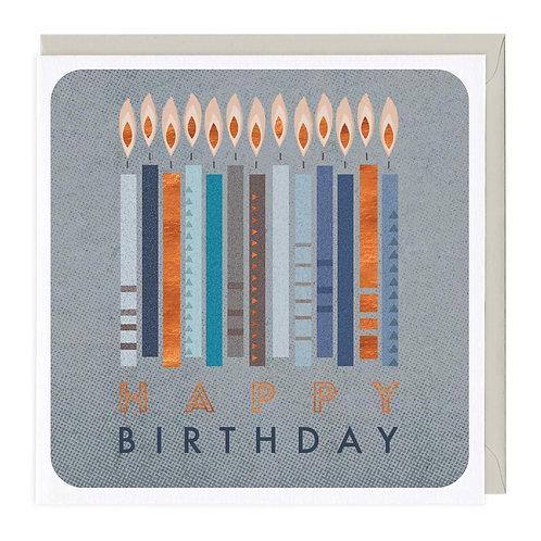 Happy Birthday - Candles