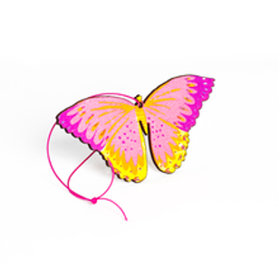 Pink Butterfly Decoration