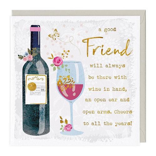 A good Friend...