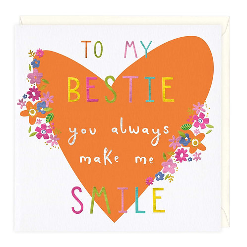 To My Bestie...