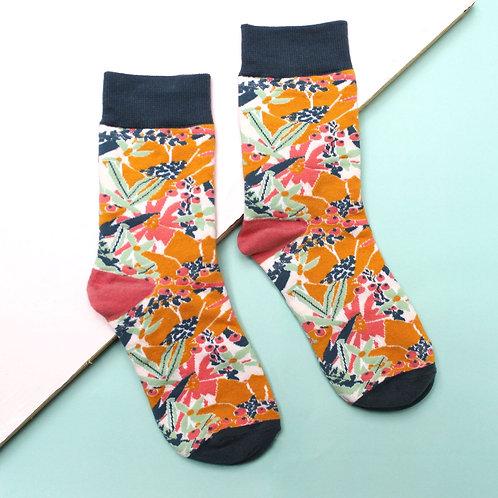 """Eden """"Mustard"""" Socks"""