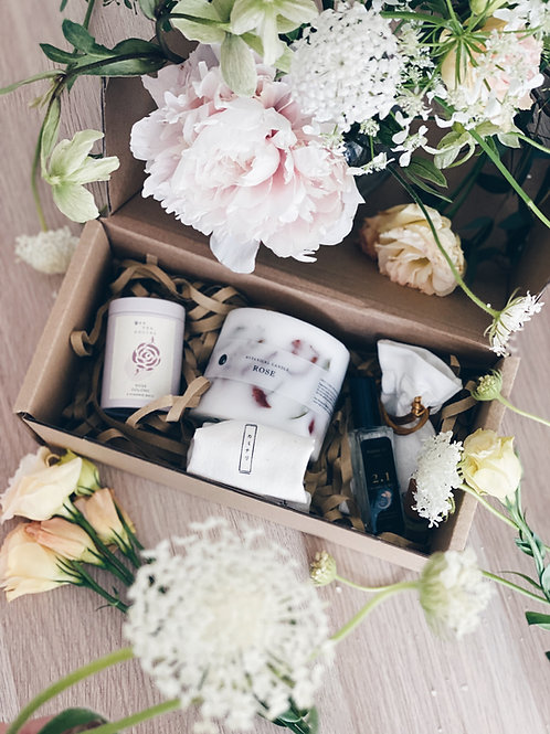 Botanical Candle + Mood Booster Kit
