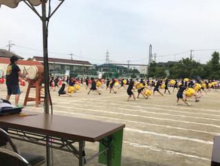 狛江第六小学校運動会参観