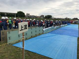 H30年度 狛江市総合水防訓練