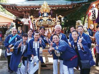 小足立八幡神社大祭