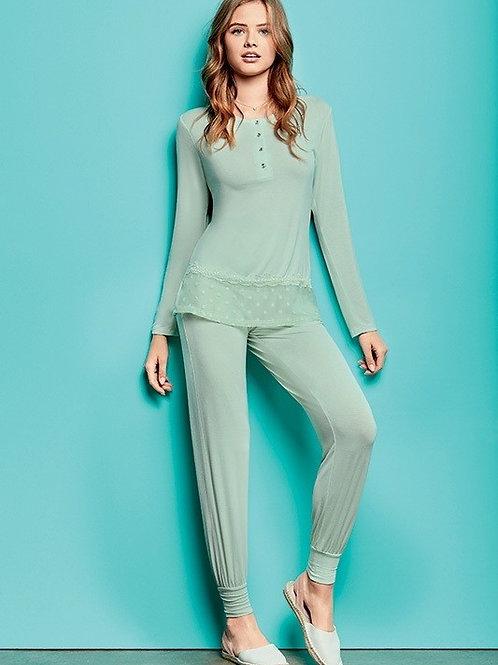 Lormar pidžama (pienbalta krāsa)