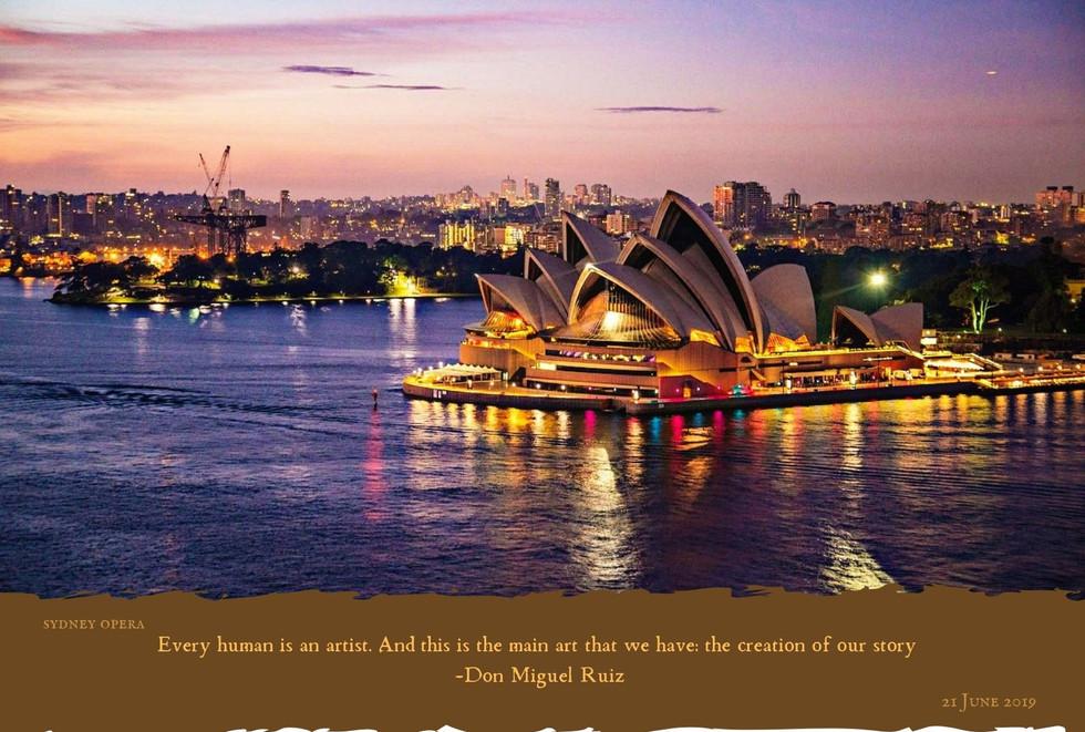 Famous Landmark - Sydney Opera