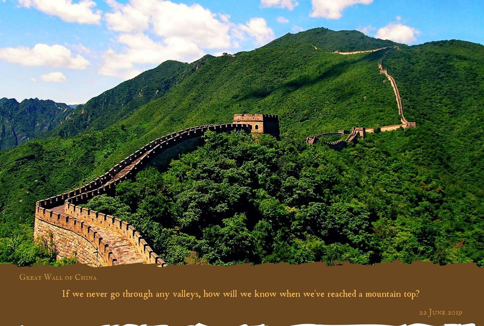 Famous Landmark - Great Wall Of China