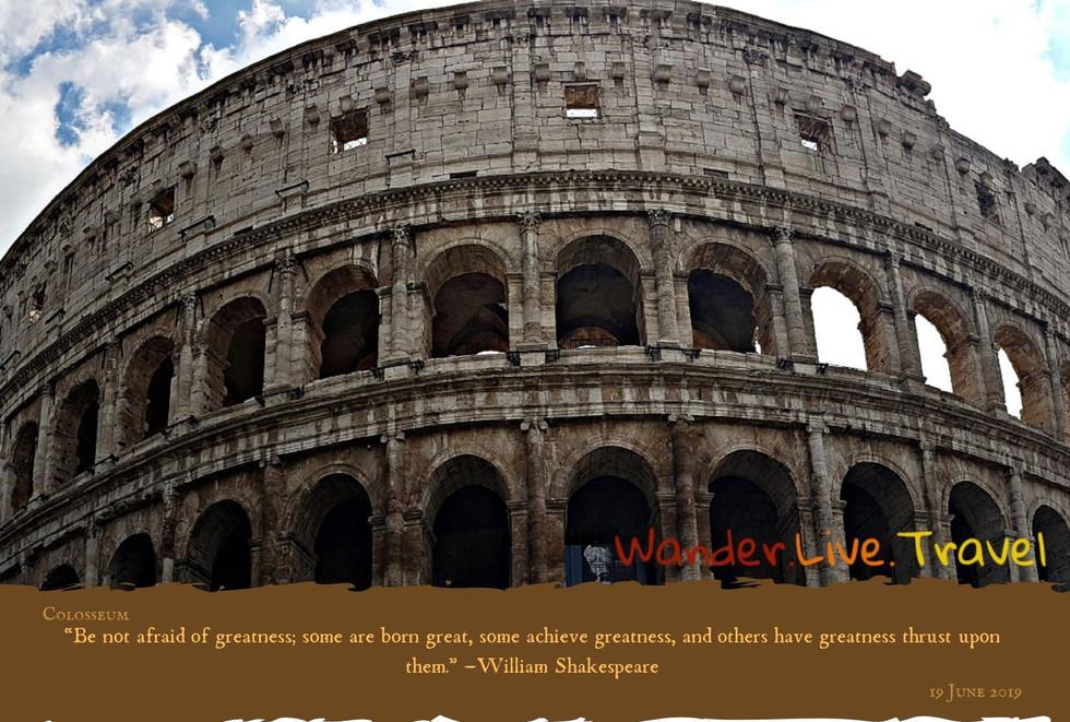 Famous Landmark - Colosseum