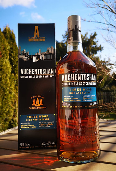 Auchentoshan Three wood 43,0% 0,7 l