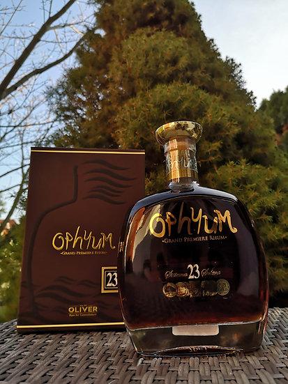 Ophyum 23 Anos Solera Grand Premiere Rhum 40% 0,7 l