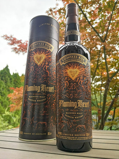 Compass Box FLAMING HEART 6th Limited Edition 2018 48,9% 0,7 l