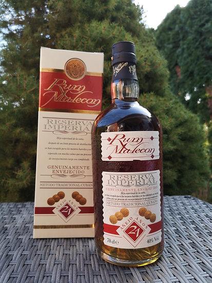 Rum Malecon 21 Anos Reserva imperial 40,0% 0,7 l