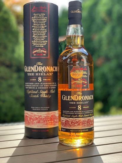 Glendronach 8 Jahre alt The Hielan Single Malt Scotch Whisky 46% 0,7 ll