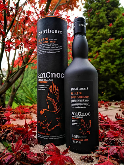 AnCnoc Peatheart Whisky 46% 0,7 l