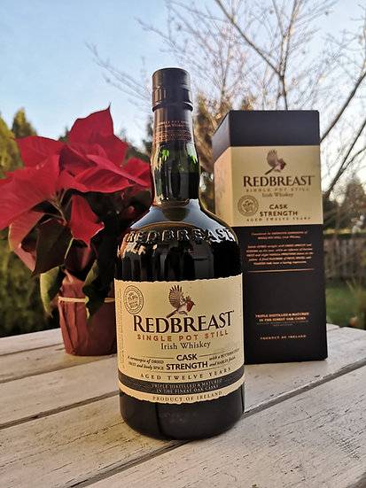 Redbreast 12 Jahre alt Cask Strength Irish Whiskey 55,8% 0,7l
