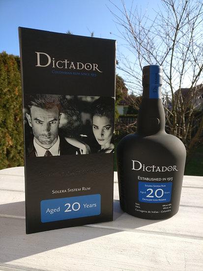 Dictador 20 Jahre alt Distillery Icon Reserve 40,0% 0,7 l