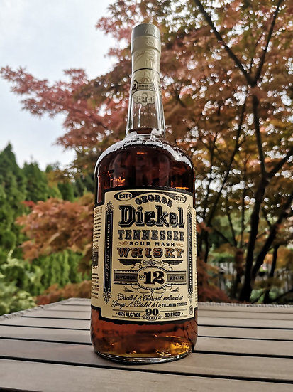 George Dickel N°12 Tennessee Sour Mash Whisky 45% 1l