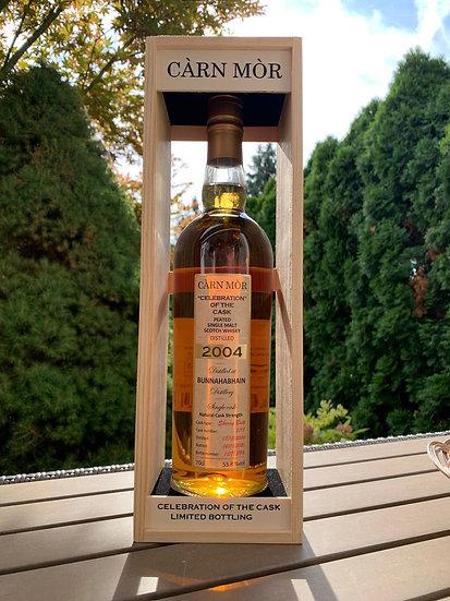 Càrn Mòr Bunnahabhain Moine Vintage 2004 Single Malt Whisky 53,8% 0,7l