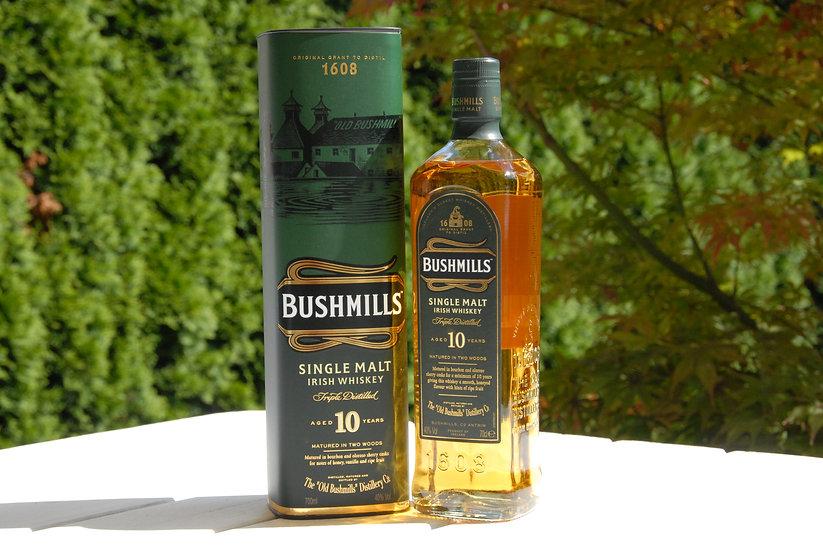 Bushmills 10 Jahre alt 40,0% 0,7 l