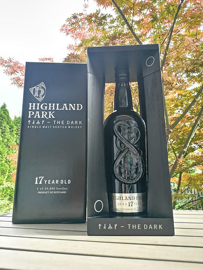 Highland Park 17 Jahre alt THE DARK 52,9% 0,7 l