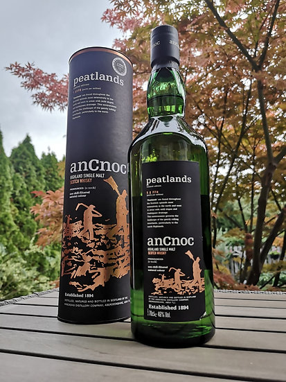 AnCnoc Peatlands Whisky Limited Edition 46% 0,7 l