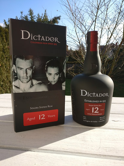 Dictador 12 Jahre alt Ultra Premium Reserve 40,0% 0,7 l
