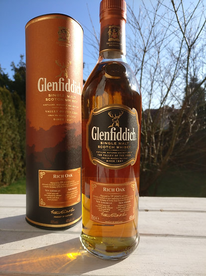 Glenfiddich 14 Jahre alt Old Rich Oak 40,0% 0,7 l