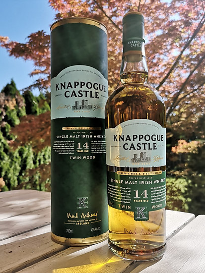 Knappogue Castle 14 Years Old TWIN WOOD Single Malt Irish Whiskey 40% 0,7 l