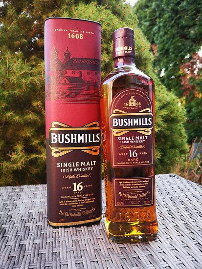 Bushmills 16 Jahre alt Single Malt Whiskey 40% vol. 0,7l