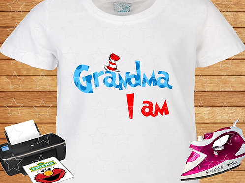 Grandma I am download file iron on transfer
