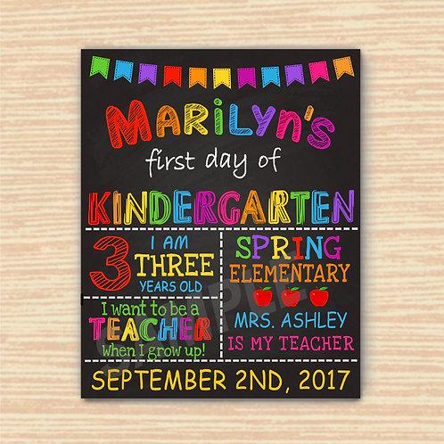 first grade prop