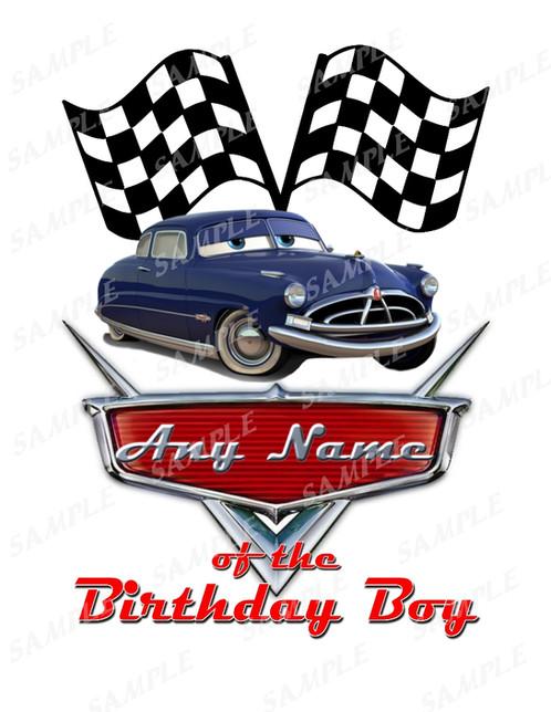 Disney Cars Birthday Shirt Disney Cars Name Of The Birthday Girl