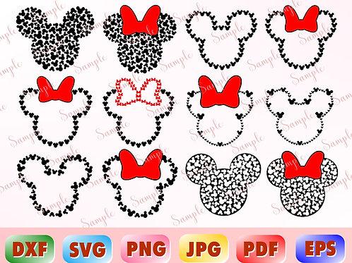Disney Mickey Mouse svg dxf
