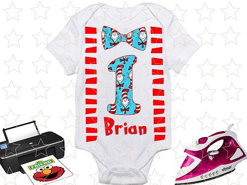 Dr. Seuss Birthday Shirt, Birthday Boy