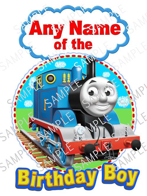 Thomas the Tank Engine iron on transfer